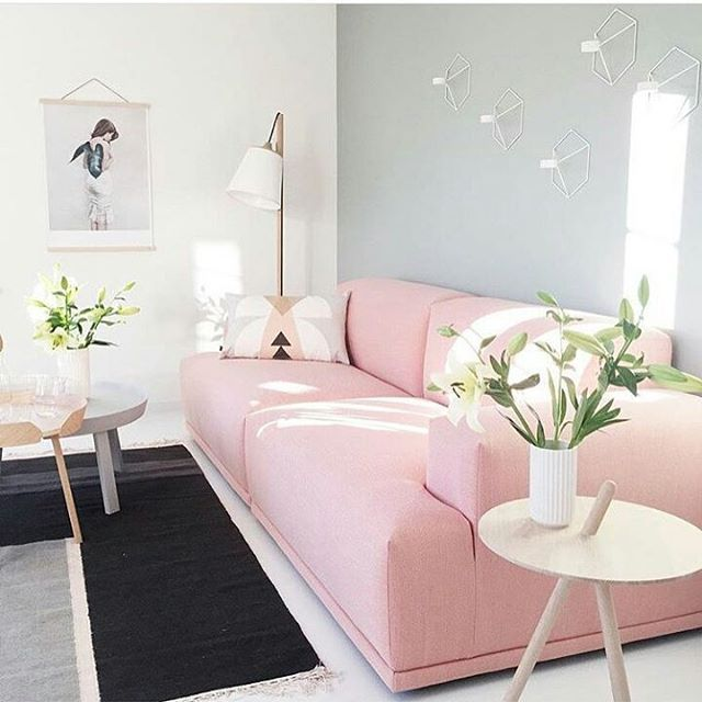 Via Norsu Interiors | Pink Wood Black Grey | Muuto