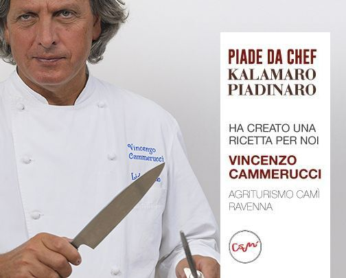 Vincenzo Cammerucci per Piade da Chef - Kalamaro Piadinaro Riccione #piadedachef #kalamaropiadinaro #vincenzocammerucci