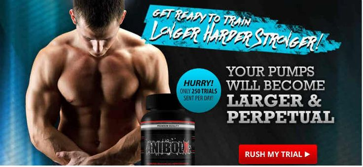 Best Muscle Growth Supplements : AnibolX Fitness Supplements For Men