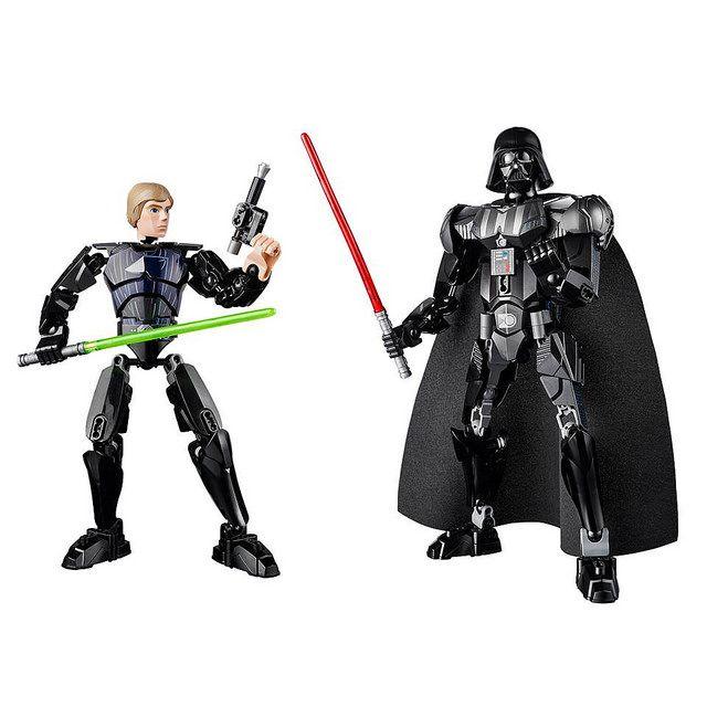 LEGO Star Wars Constraction Figures #Lego #StarWars #LegoStarWars #GuerreStellari