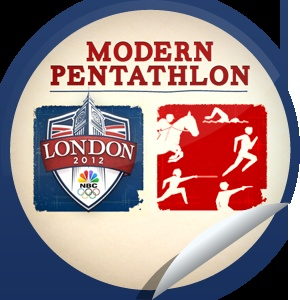 2012 Summer Olympics Modern Pentathlon...Catch the Modern Pentathlon and check-in with GetGlue.com for this exclusive sticker!