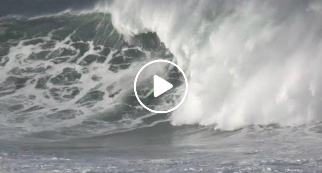 Surfista Garrett McNamara Sofre Impressionante Queda Em Onda Gigante