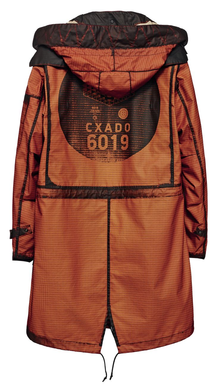 Stone Island Shadow Project_Spring Summer '014 www.stoneisland.com  70203 FISHTAIL PARKA_GRID-R INVERSE