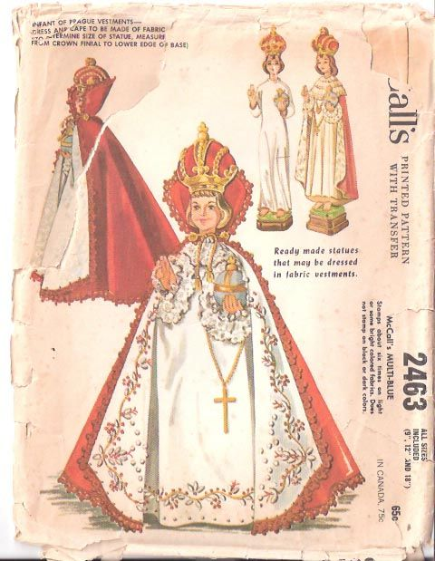 Vestments for the Infant of Prague