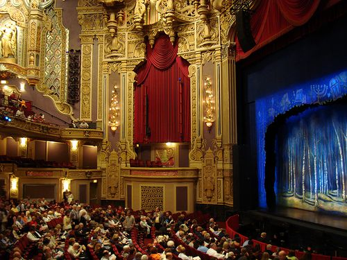 Chicago Oriental Theatre...one of the most extravagant theatres....absolutely gorgeous!