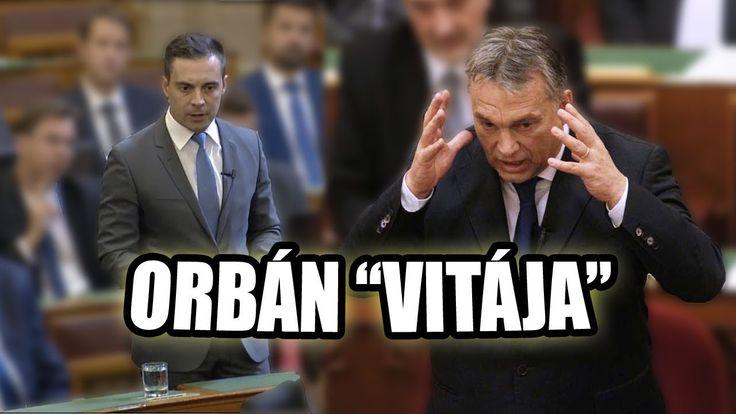 NE VÁRJUK A FIDESZTŐL ÉS SZIMPATIZÁNSAIKTÓL ÉRTELMES BESZÉDET, HISZ A VEZÉRÜK SEM TUD ÉRTELMESEN BESZÉLNI! ORBÁN NEM ÉRTI MI AZ A VITA (Vona - Orbán vita)