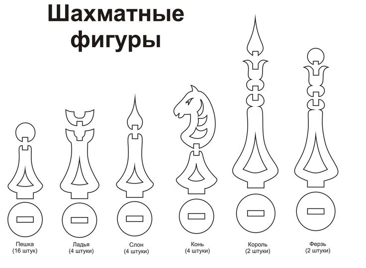 Resultado de imagen para piezas de ajedrez armables