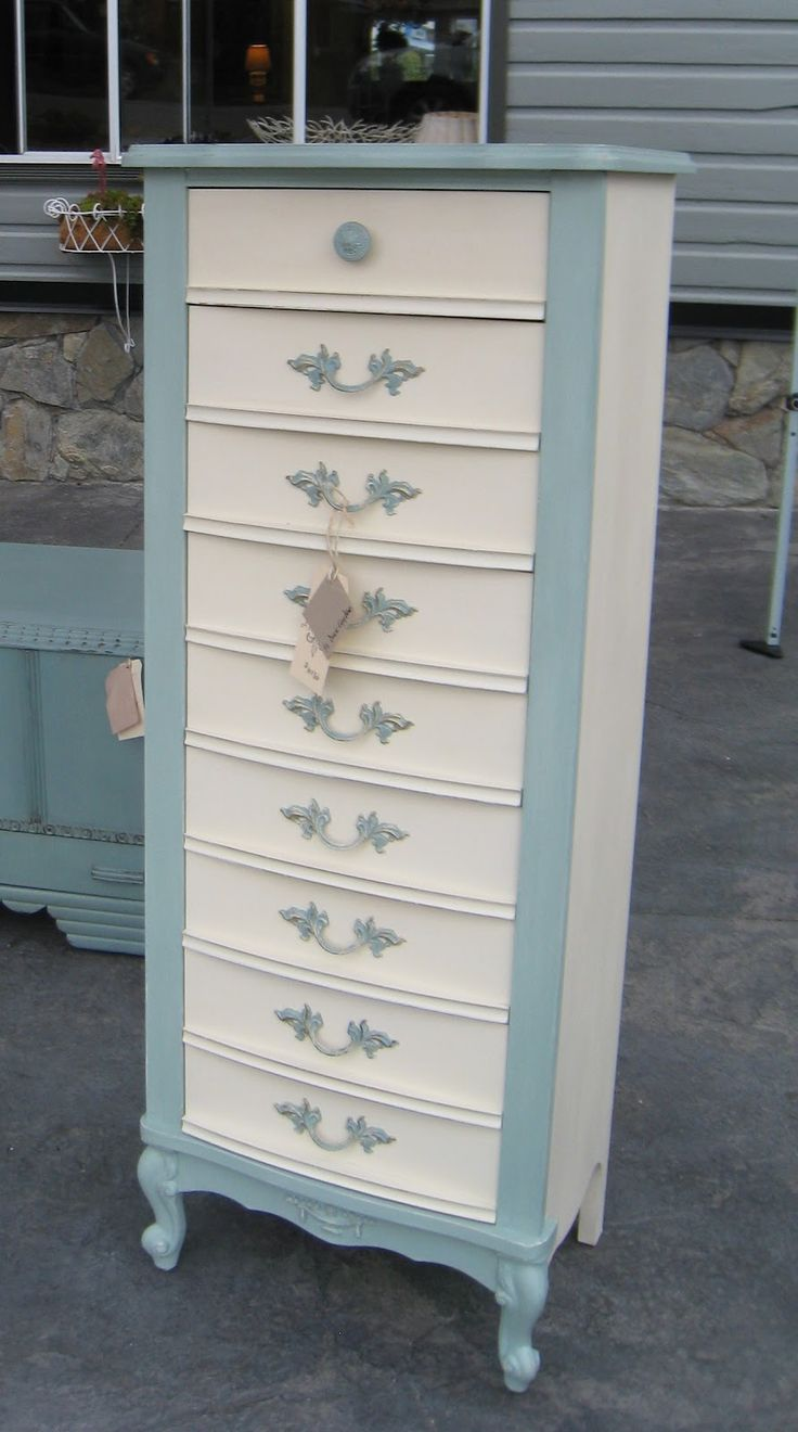 paint tallboy | French Provincial Tall Boy Dresser