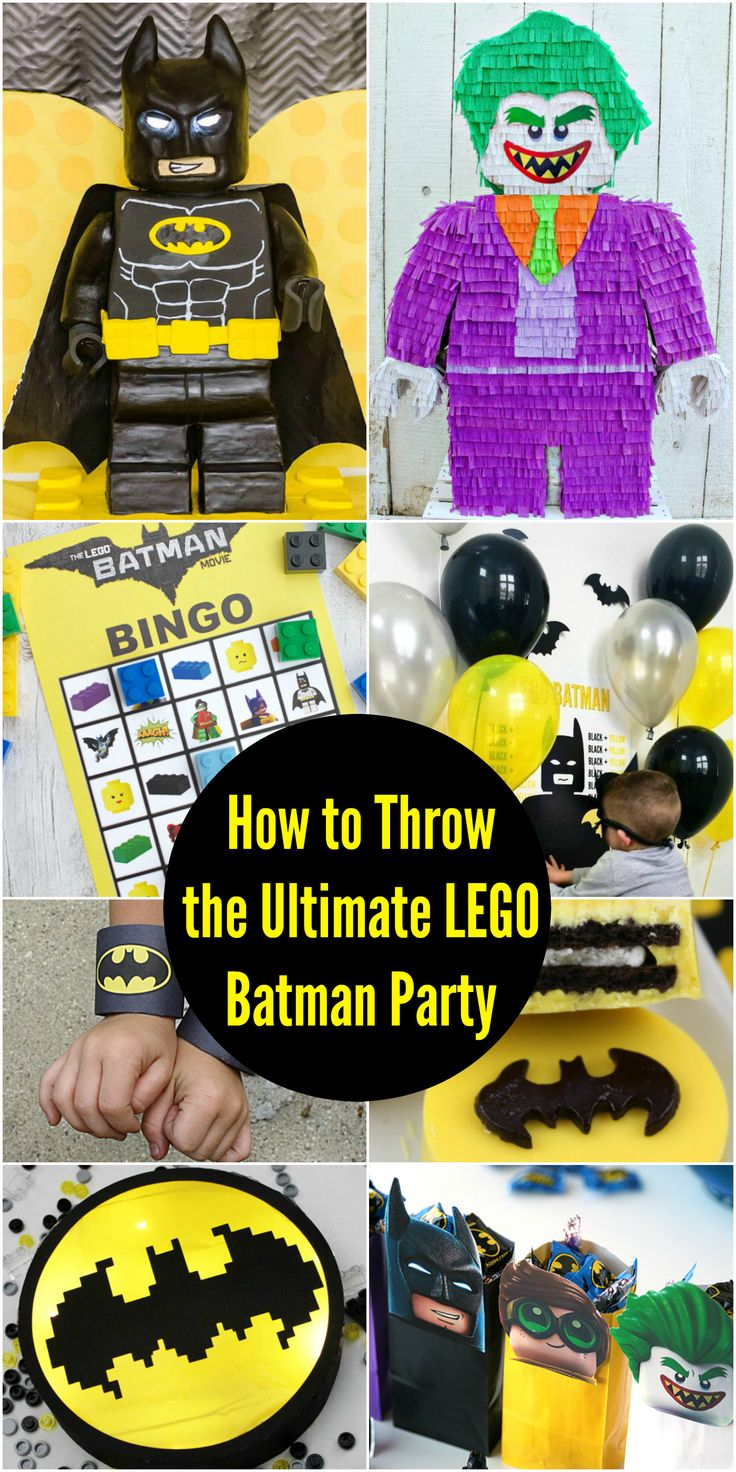 Ultimate LEGO Batman party ideas are going to be ideal for your next Lego or Superhero Birthday Party! This boys birthday party idea is a great way to save money and have fun!