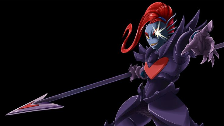 Undyne the Undying by Gannadene