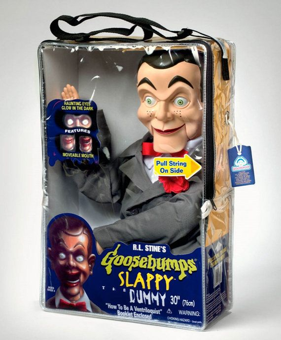 Vintage Goosebumps Slappy Ventriloquist Dummy Boxed by jollywolly