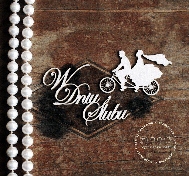 Wedding chipboards snart hos Kreativ Scrapping