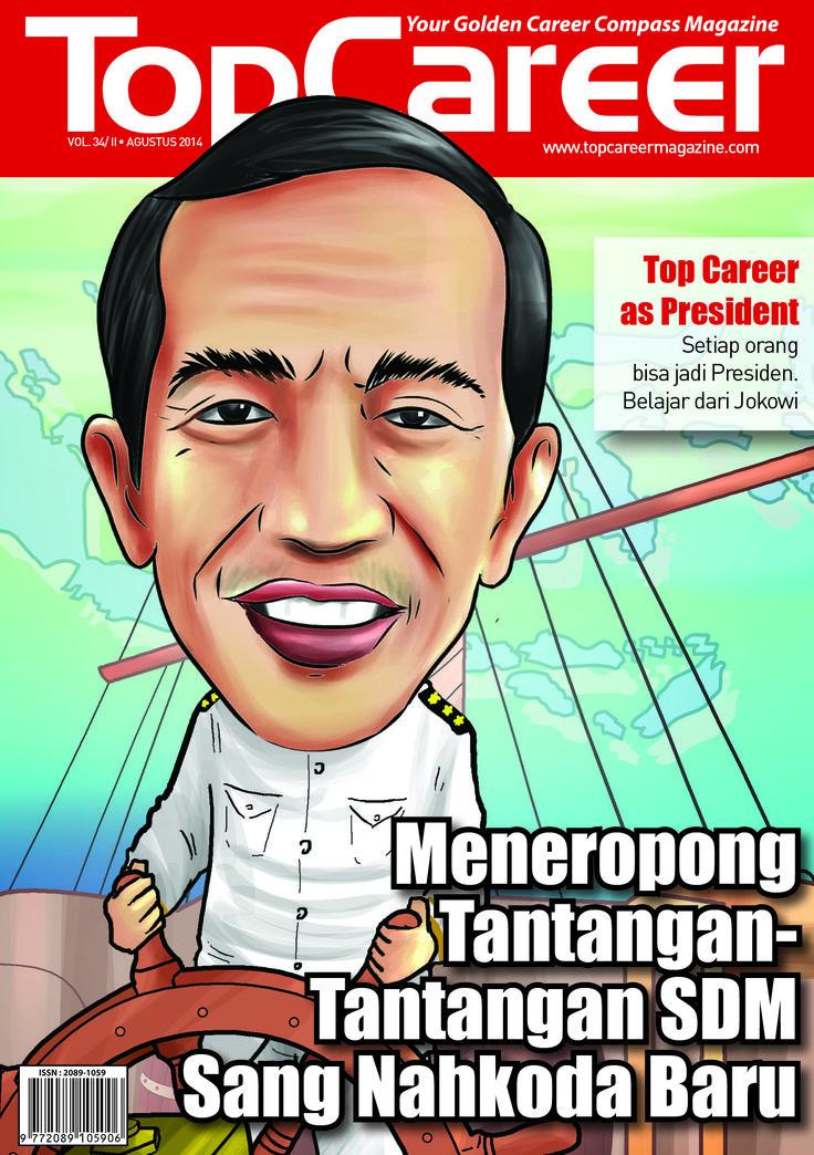 Cover Majalah Edisi 34 | Meneropong Tantangan-tantangan SDM Sang Nahkoda Baru