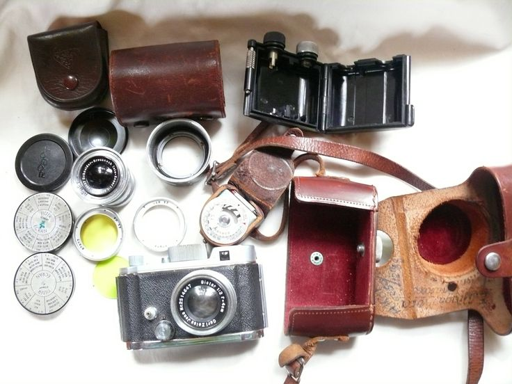 Berning Robot, Robot II, Vintage Camera, Complete Set Robot ll, 1:2/f4 cm Zeiss Biotar Lens, 24×24mm Format, 1930s Camera by HarmlessBananasTribe on Etsy