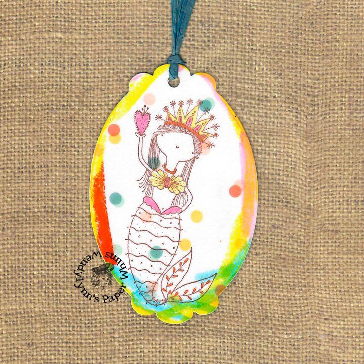 Bookmark, Mermaid Bookmark, Fantasy Bookmark, Magical