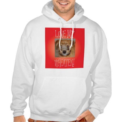 Love My Wheaten Hoodie Sweatshirt