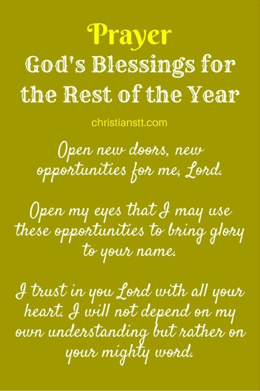 Prayer S Blessings For The Rest Of Year Financial Breakthrough Pinterest Prayers And Blessed