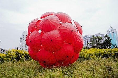 Another umbrella installation