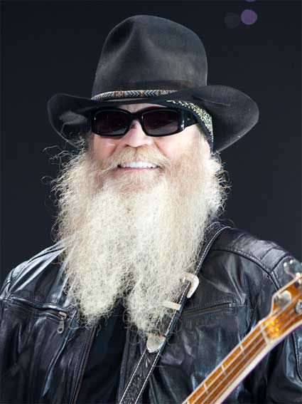 Dusty Hill - Born in Dallas, Texas. Bassist and co-vocalist in the American rock group ZZ Top.