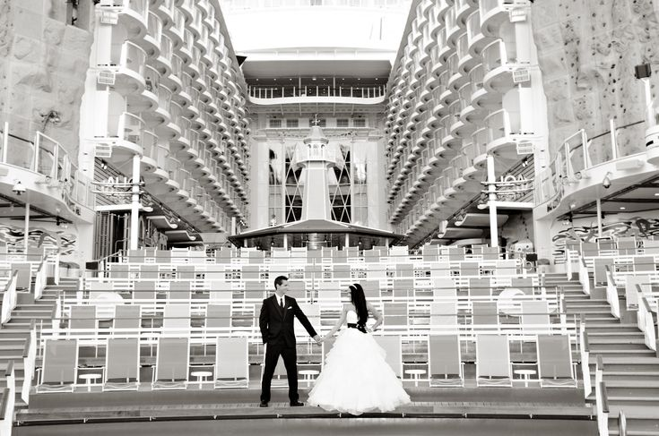 After Wedding Photo-shoot on Royal Caribbean's Allure of the Sea! Jenny & Chase 2012 <3