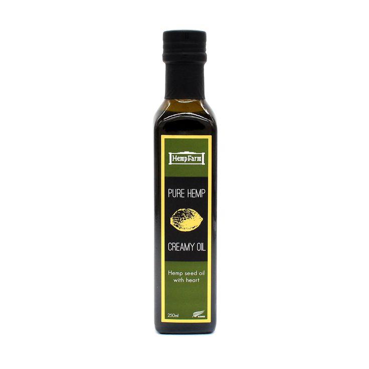 Limited Edition Hemp Seed Creamy Protein Oil 250ml