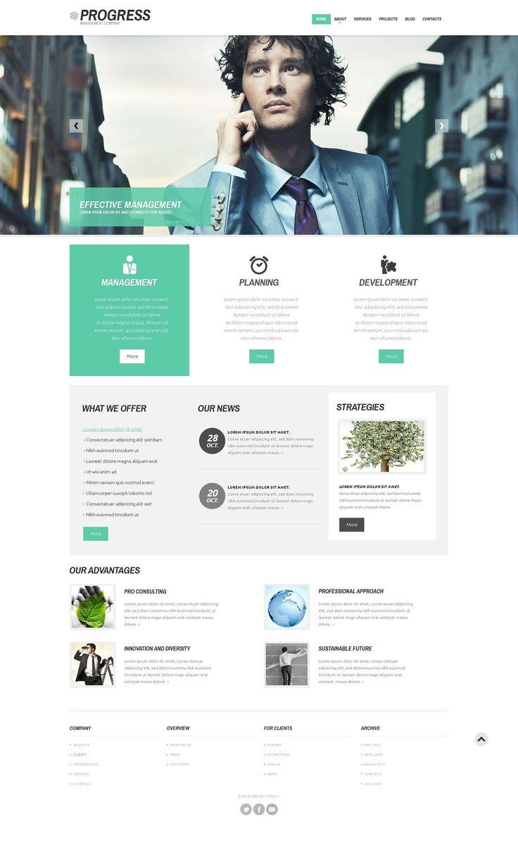 'Progress Business' #webdesign for #WordPress 3.x http://www.zign.nl/