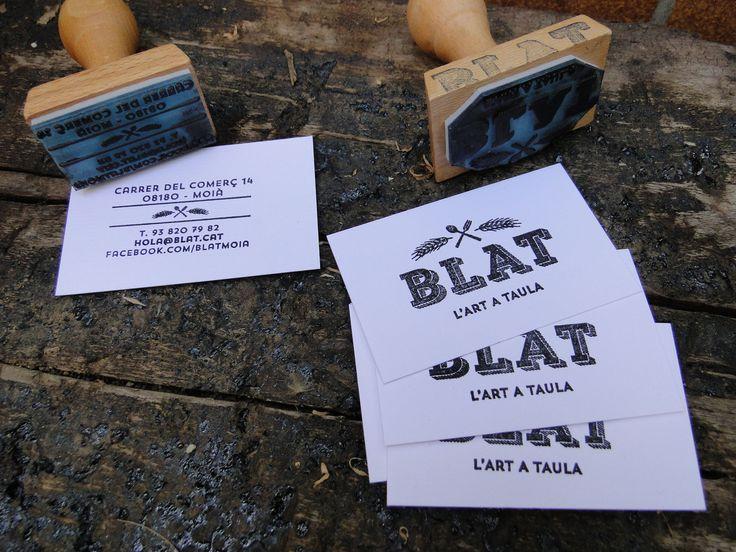 bussines card + logo Restaurant El Blat