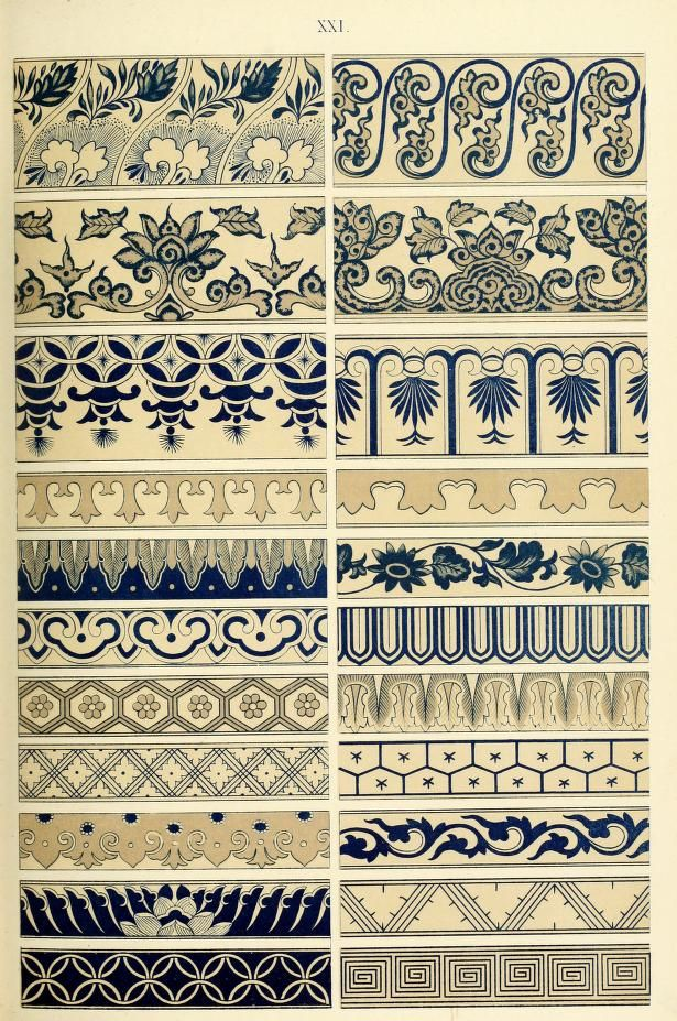 Examples of Chinese ornament selected from objects in the South Kensigton Museum…