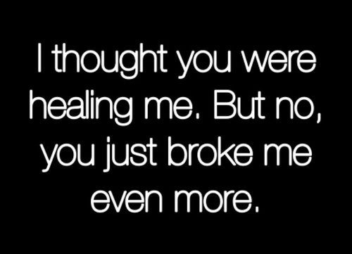 Quotes About Painful Breakups | Instagram Picture Quote