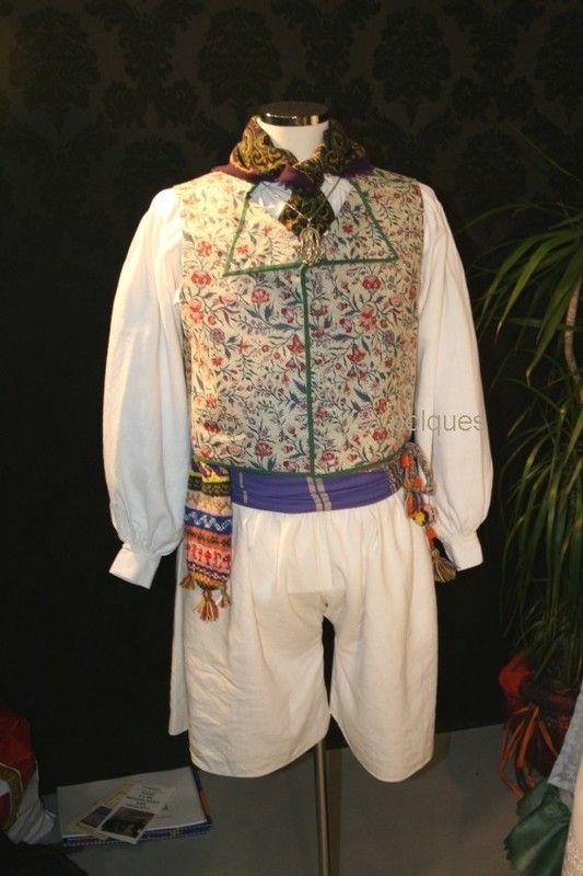 Resultado de imagen de traje valenciano masculino