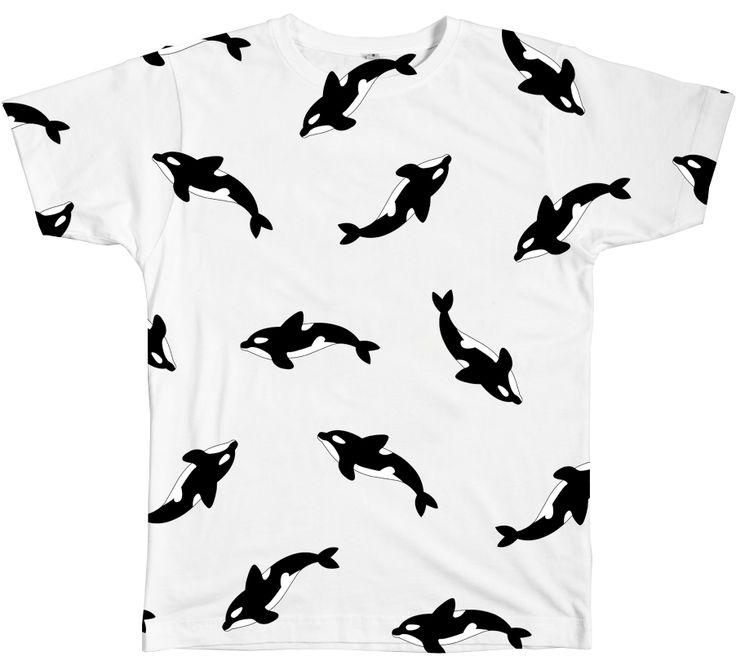 Orca Tee http://shop.inu-inu.co/Orca-Tee