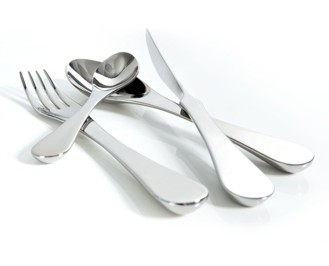 Royal VKB iD Cutlery Set by Gijs Bakker, Set of 24 (Beautiful!) @Entrepo