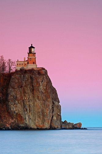 Split Rock Lighthouse, North Shore, Lake Superior, Minnesota.