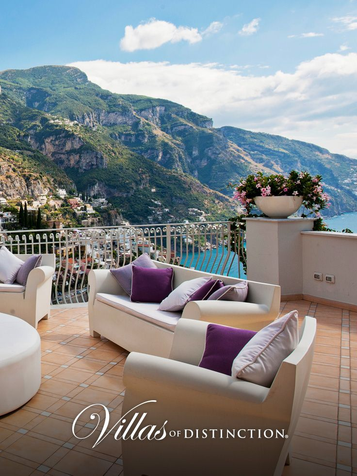 Villa Giulia has an incredible position on the hill, boasting a spectacular view of Positano and its gulf. http://www.villasofdistinction.com/villas/amalfi-coast/giulia/  #AmalfiCoast #luxuryvillas #villarentals