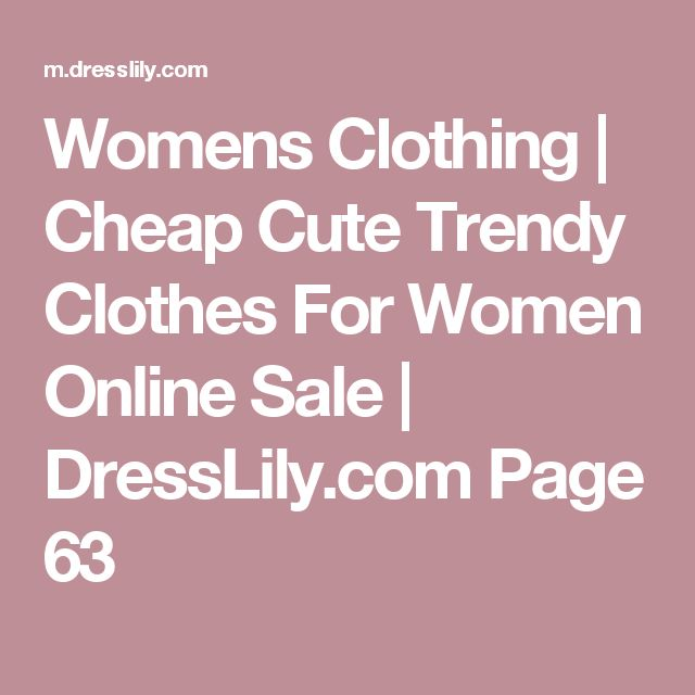 25  best ideas about Trendy Clothes For Women on Pinterest ...