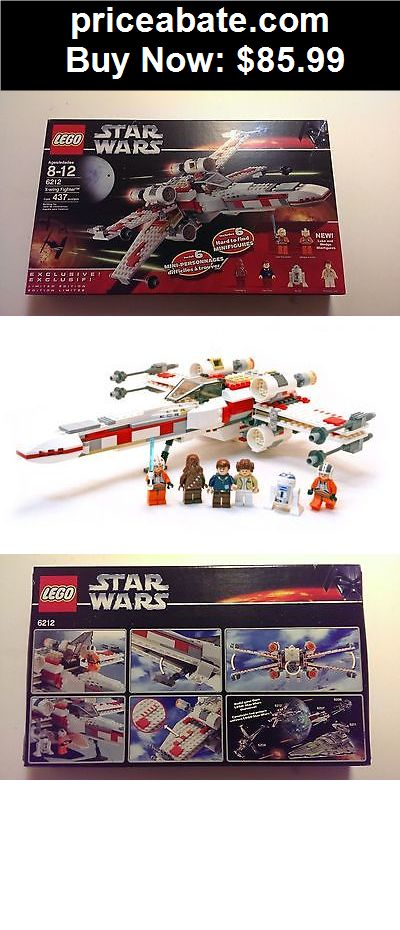 Toys: LEGO Star Wars X-Wing Fighter 6212 Brand New, RETIRED - SPECIAL LIMITED EDITION - BUY IT NOW ONLY $85.99