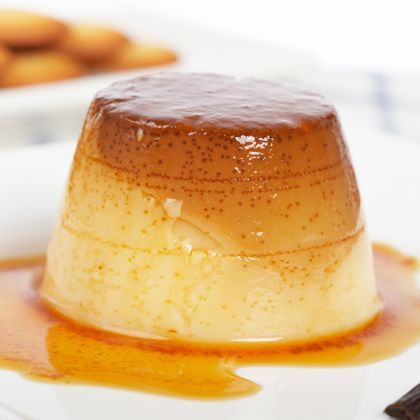 Flawless Flan   Recipes   Spoonful.