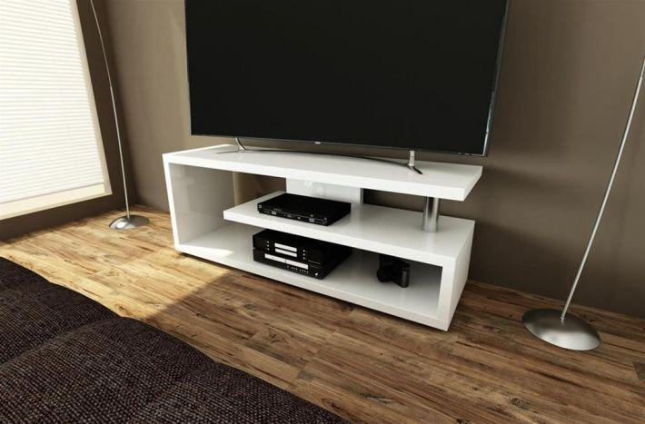 Szafki RTV Canes charakteryzują się nowoczesnym, eleganckim i bardzo modnym stylem, który doskonale prezentuje się w każdym salonie.