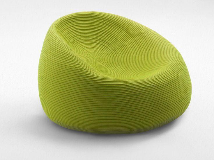 poltroncina da giardino sfoderabile otto collezione aqua by paola lenti low lounge chair
