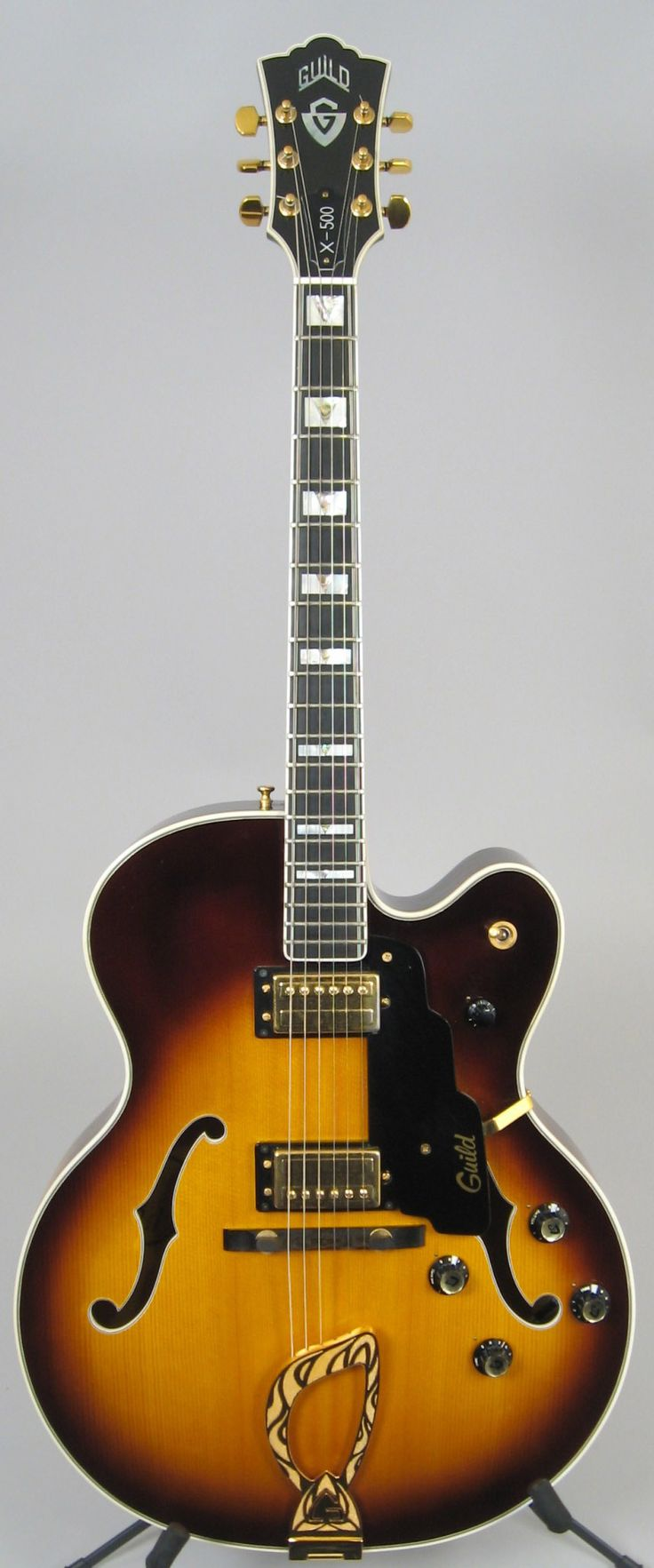 Guild X-500 Jazz Guitar from 1978.
