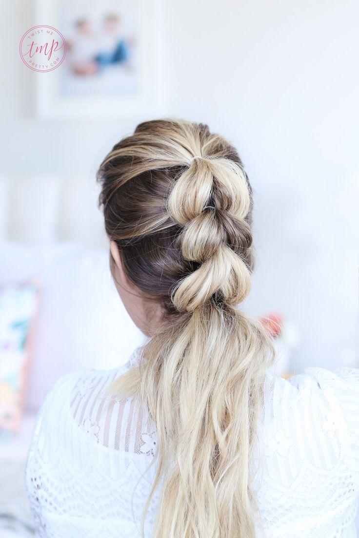 Today I'm Showing You How To Pull Through Braid And Three Different Ways To