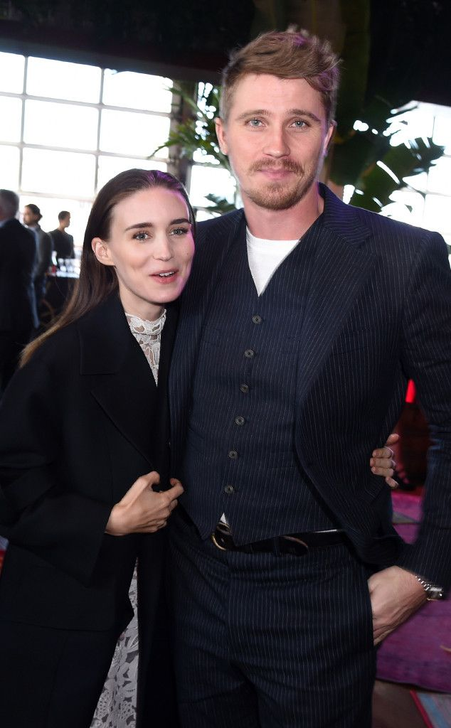 Rooney Mara & Garrett Hedlund from Movie Premieres: Red Carpets and Parties! The gorgeous Pan costars get close at the movie's premiere in NYC.