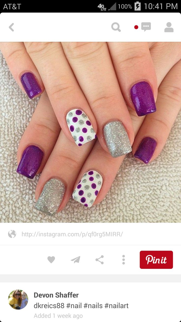 Oh man I love these, glitter, polka dots, what could be better?!?!