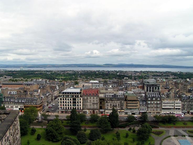 Edinburgh Scotland.  Favorite city ever visited