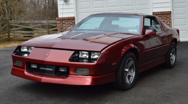 1988 Chevrolet Camaro Iroc Z T Top For Sale Photos Technical
