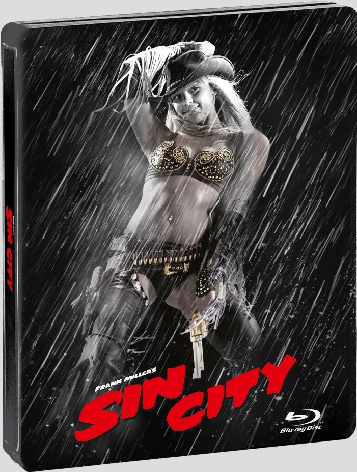 Available Now! | SIN CITY Blu-ray Steelbook | Exclusively at Best Buy Stores | Includes interior artwork & UltraViolet Digital HD