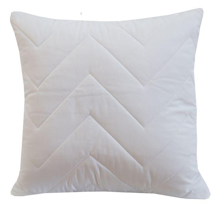 Dekoracyjna biała poszewka na poduszkę 40x40