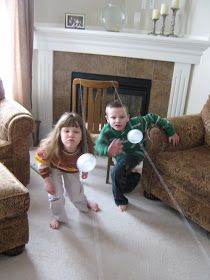 Almost Unschoolers: Combating Cabin Fever With Indoor Games
