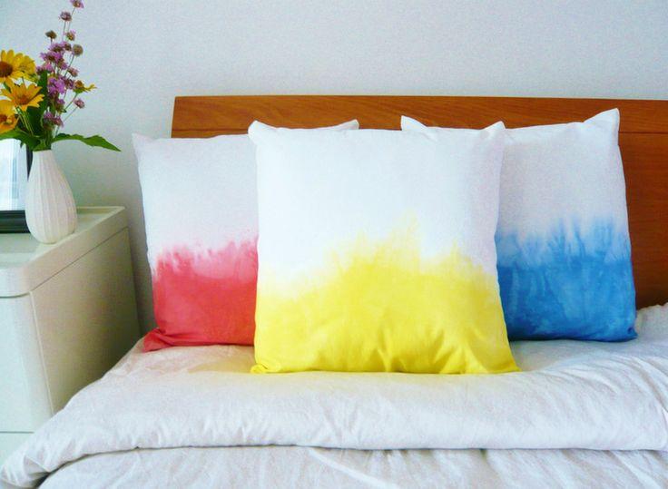 Dip Dye Kissen Pillows By Frulein Tong