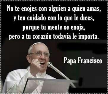 "Frase del ""Papa Francisco"""